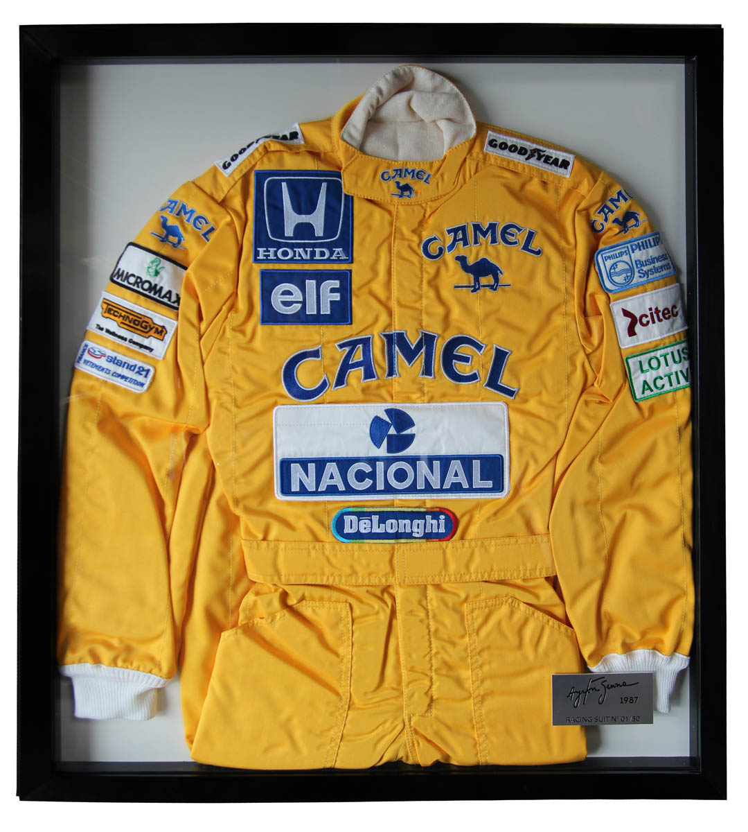 Ayrton Senna Monaco 1987 Limited Edition suit